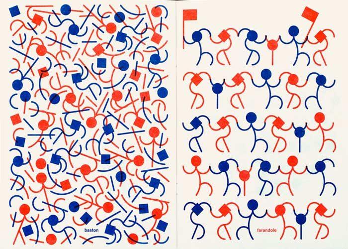 La grafica dello studio Helmo in mostra a Milano